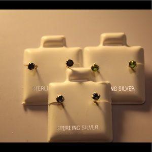 Baby earrings silver 925